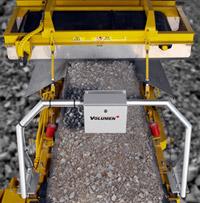 Lasertronik Messsystem auf Brechanlage montiert